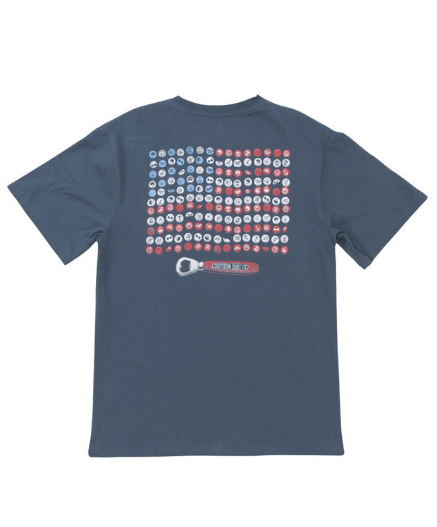 Southern Shirt Co - Bottle Cap Flag Tee