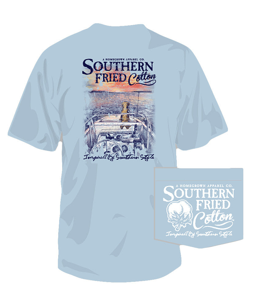 Southern Fried Cotton - Ridin' On A Breeze Tee