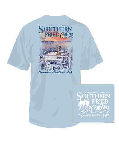 Southern Fried Cotton - Youth Ridin' on a Breeze Tee