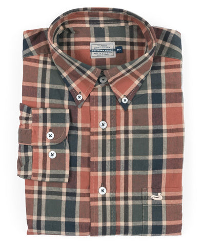 Southern Marsh - Ocoee Washed Plaid