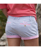 Southern Marsh - The Brighton Shorts - Blue Stripe