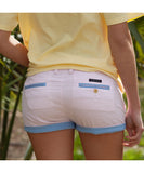 Southern Marsh - The Brighton Shorts - Pink Stripe w/ Navy