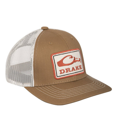 Drake - Square Patch Mesh Cap