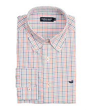 Southern Marsh - The Nottoway Check - Burnt Orange/Navy