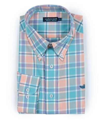 Southern Marsh - Brevard Plaid Long Sleeve