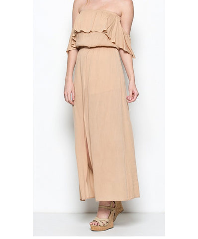 Illa Illa - Strapless Maxi Dress