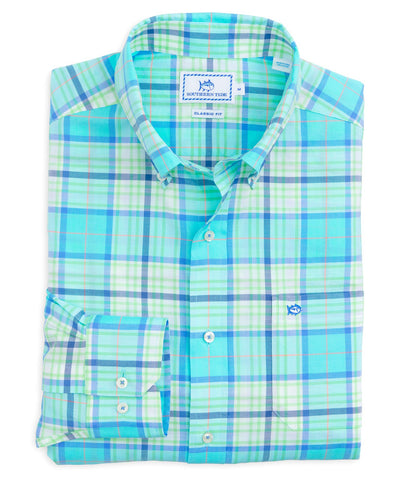 Southern Tide - Open Sea Plaid Sportshirt