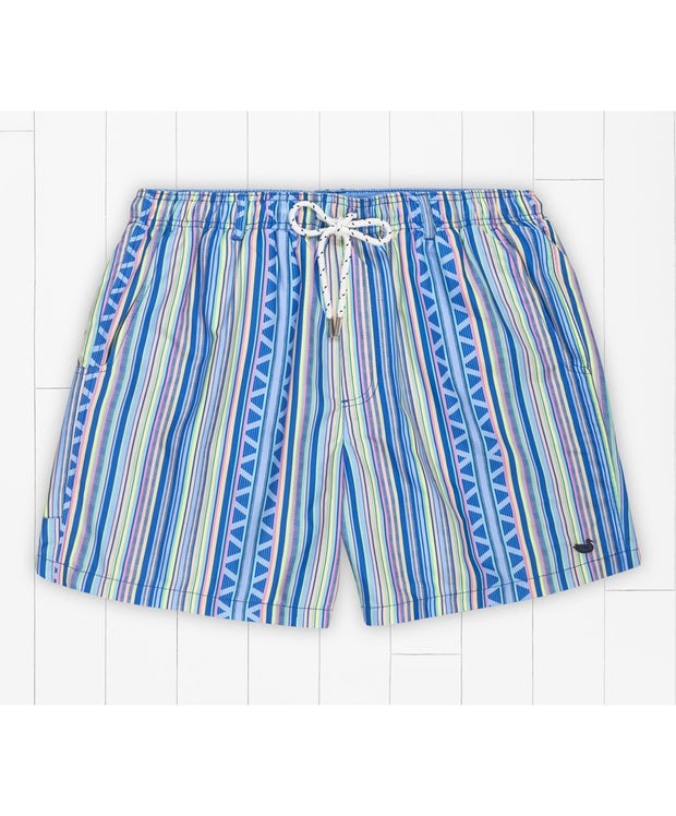 Southern Marsh - Dockside Swim Trunk - Pacific Stripe