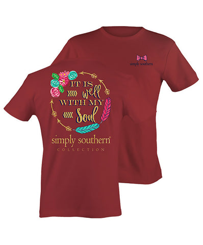 Simply Southern - It Is Well With My Soul Tee