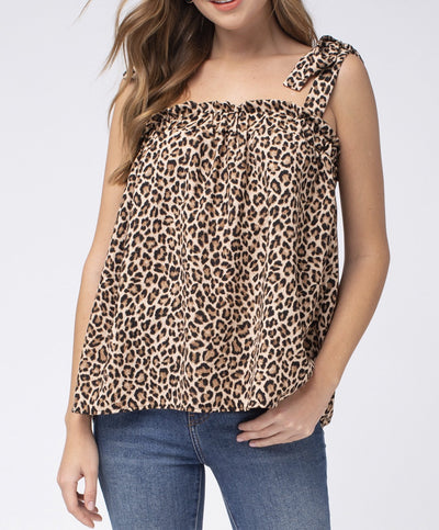 Not Too Sweet Leopard Top