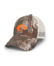 Costa - Mesh Hat - RealTree Xtra Camo/Stone Orange Emb.