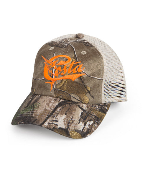 Costa - Retro Trucker Hat - Camo