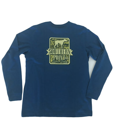 Southern Point - Camo Shield Long Sleeve Tee
