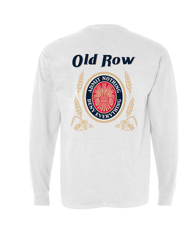 Old Row - Retro Can Pocket Long Sleeve Tee