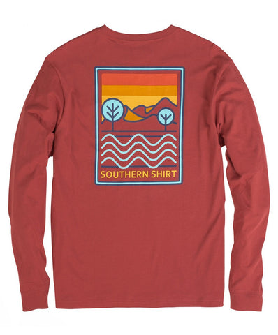 Southern Shirt Co. - Canyon Sky Long Sleeve Tee