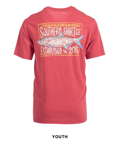 Southern Shirt Co - Boys Silver King Tee