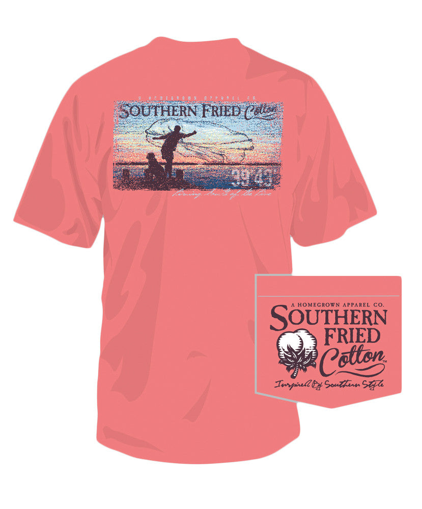 Southern Fried Cotton - Cast Away Pocket Tee