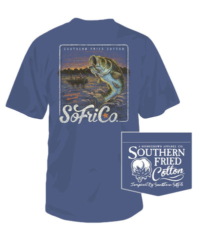 Southern Fried Cotton - 5 LB Bass Tee