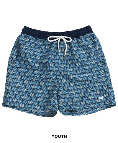 Southern Marsh - Youth Dockside Swim Trunk - Seashell