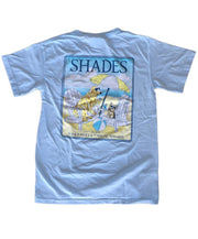 Shades - Youth Lola & Ollie on the Beach Tee
