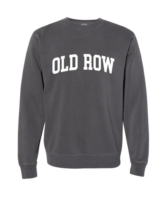 Old Row - Pigment Dyed Crewneck Sweatshirt
