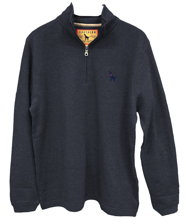 Southern Fried Cotton - 1/4 Zip Fleece Long Sleeve