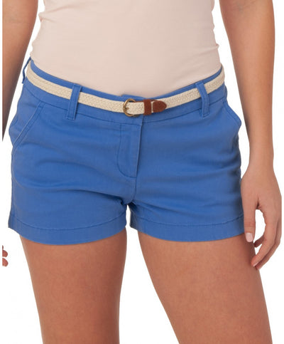 "Southern Tide - Ladies Chino Shorts 3"" - Charting Blue"