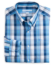 Southern Tide - Auto Pilot Plaid Sport Shirt - Charting Blue