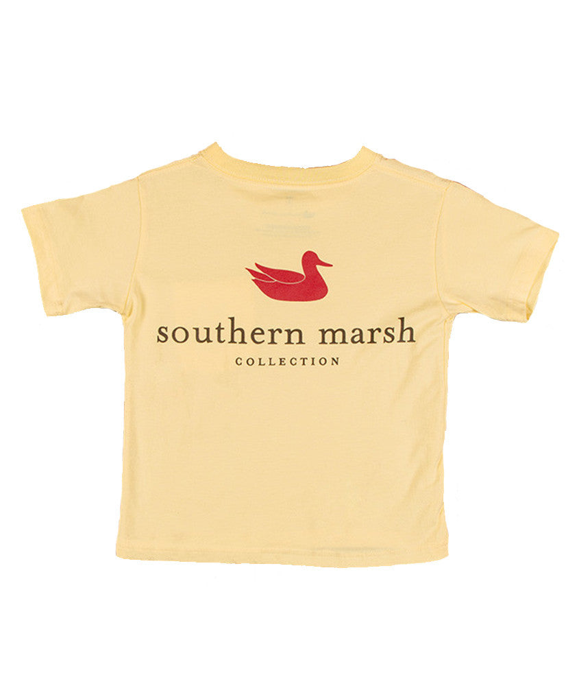 Southern Marsh - Youth Authentic T-Shirt - Yellow
