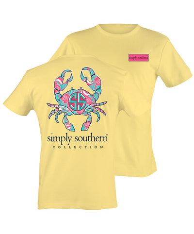 Simply Southern - Preppy Crab Tee