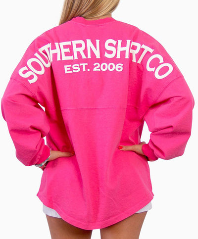 Southern Shirt Co.- Crew Neck Jersey Pullover Azalea Back