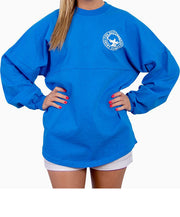 Southern Shirt Co.- Crew Neck Jersey Pullover Marina Blue Front