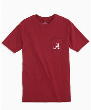 Southern Tide - College Cross Tee