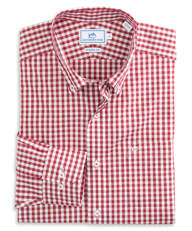 Southern Tide - Team Color Lowery Gingham Sportshirt