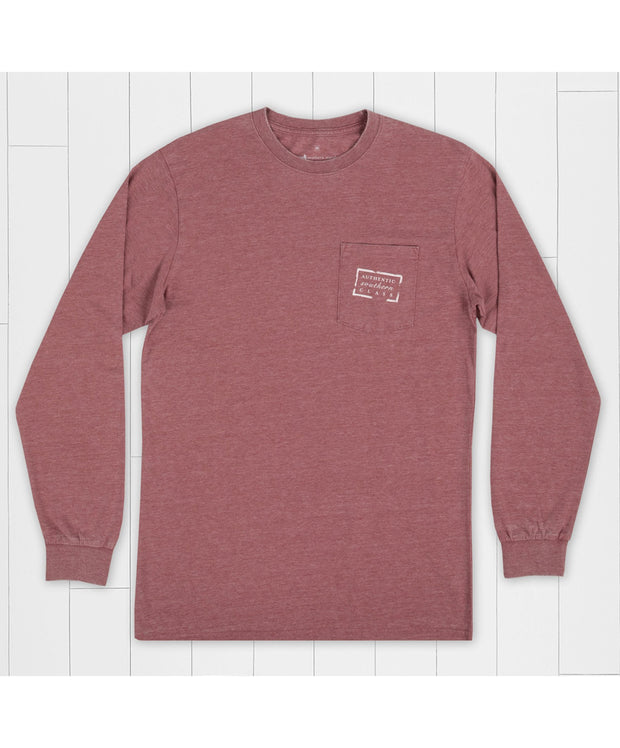Southern Marsh - Seawash Long Sleeve Tee - Authentic