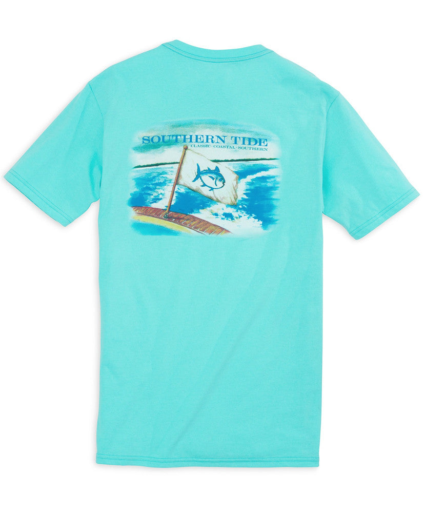 Southern Tide - Coastal Watercolor Tee