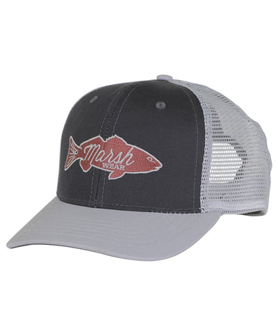 Marshwear - Retro Redfish Trucker Hat