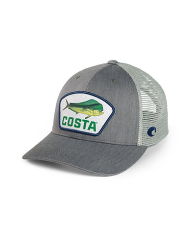 Costa - XL Fit Topo Trucker Patch Dorado Hat