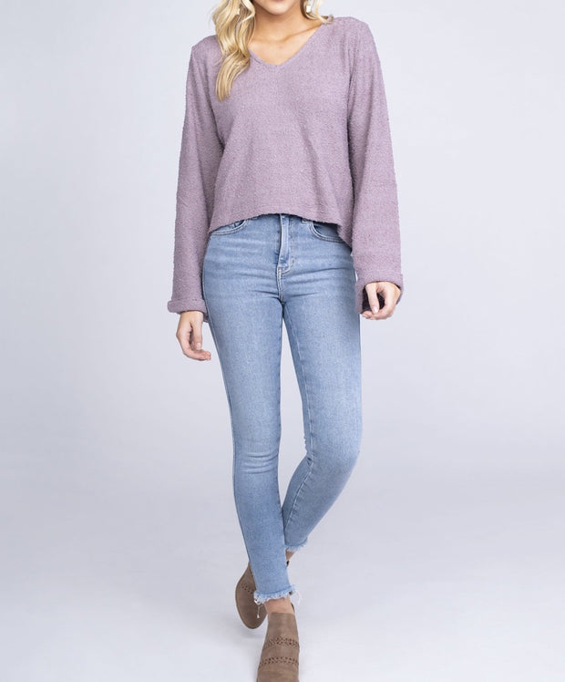 Southern Shirt Co - Boucle V Neck Sweater