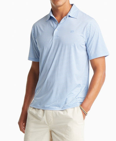 Southern Tide - BRRR Bimini Stripe Performance Polo