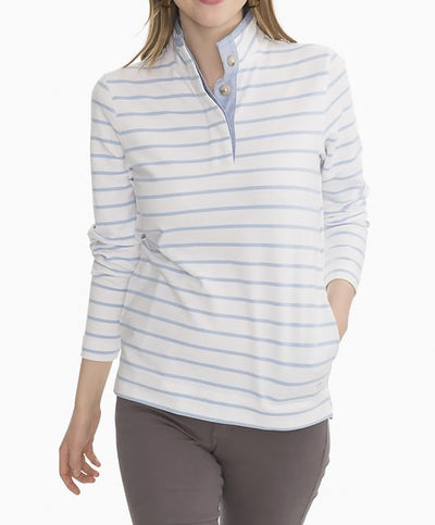 Southern Tide - Waylon Striped Pullover