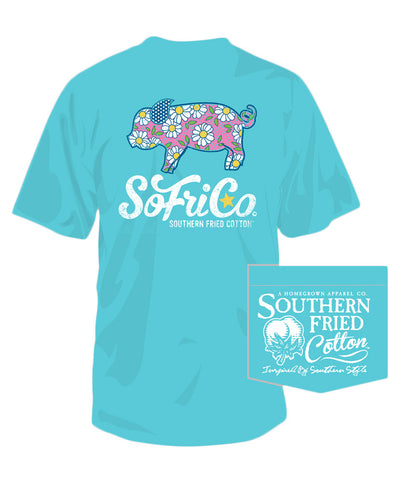 Southern Fried Cotton - Daisy Tee