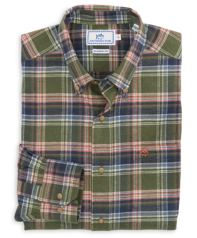 Southern Tide - Pisgah Plaid Sport Shirt