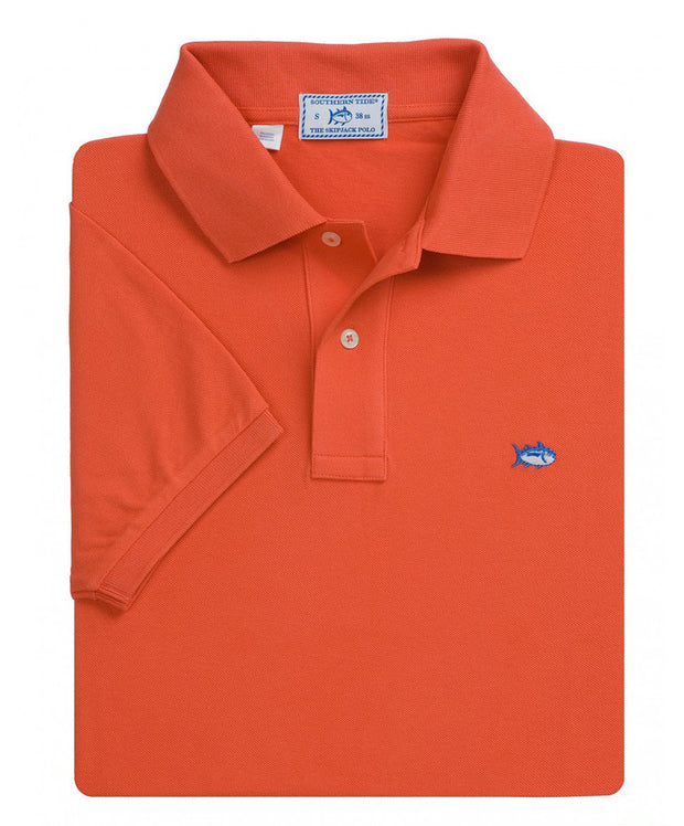 Southern Tide - Classic Skipjack Polo - Deep Sea Coral
