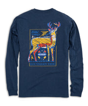 Southern Tide - Know Your Prey Deer Long Sleeve Tee