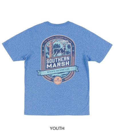 Southern Marsh - Youth Deer Hunting Short Sleeve Tee