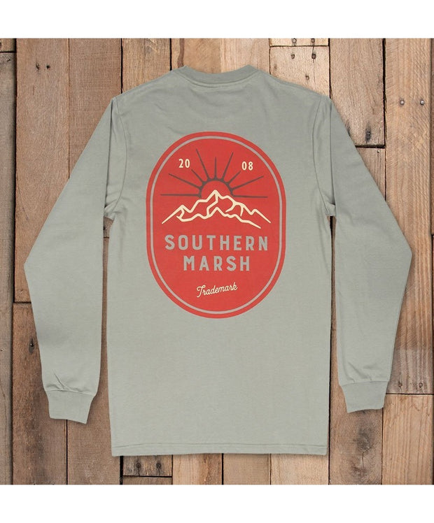 Southern Marsh - Branding - Mountain Rise Long Sleeve Tee