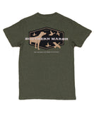 Southern Marsh - Branding - Hunting Dog Tee