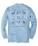 Southern Proper - Dog in this Fight Long Sleeve Tee