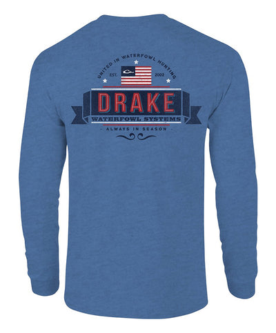 Drake - Drake Patriot Long Sleeve Tee